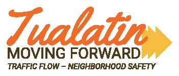 'Tualatin Moving Forward' Logo & Tagline