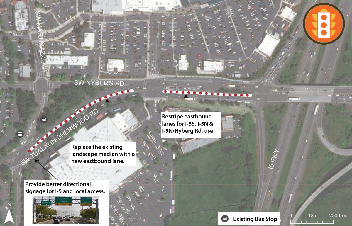 TMF Project Map - Tualatin-Sherwood-Rd-Martinazzi-Ave-to-I5