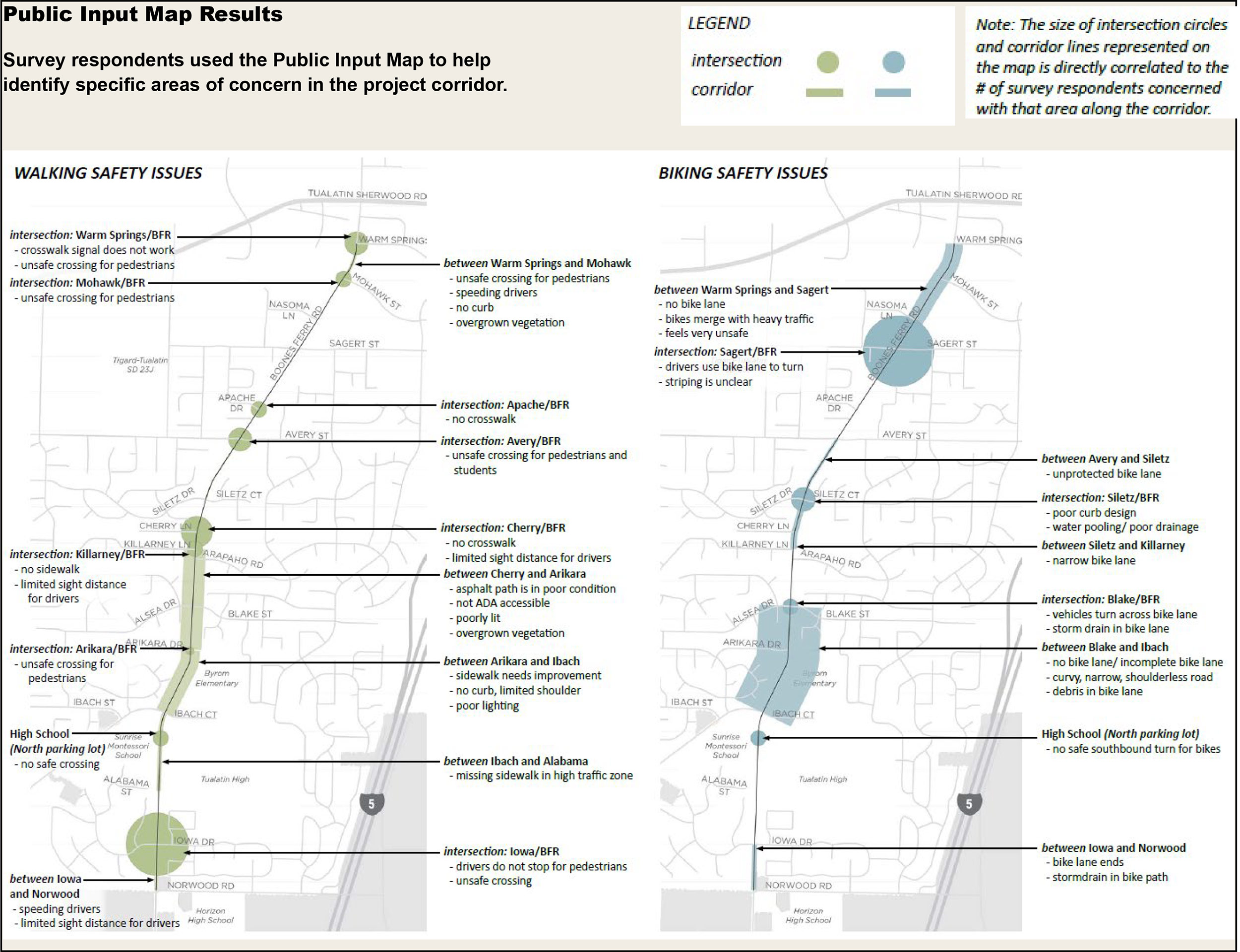 BFRCorridor-Public Input Map Results